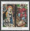 Germany SG2691 1995 Christmas 100pf+50pf good/fine used